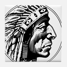 Indian Head Tile Coaster