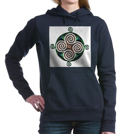 Celtic Symbol Women's Hooded Sweatshirt