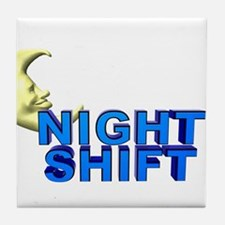 Night Shift Tile Coaster
