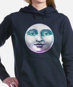 Man in the Moon Women's Hooded Sweatshirt