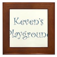 kevens.png Framed Tile