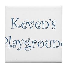 kevens.png Tile Coaster