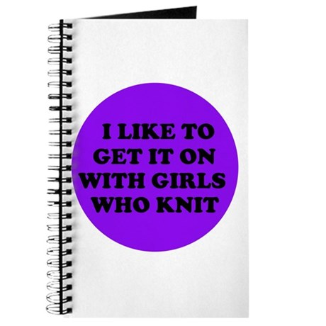 Get it On With Girls Who Knit Journal
