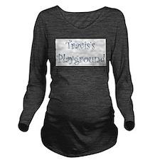 traviss.png Long Sleeve Maternity T-Shirt