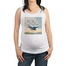Cute Passion birds Maternity Tank Top