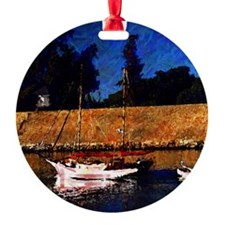 Canalboat Ornament