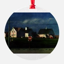 The Pink Farm Ornament
