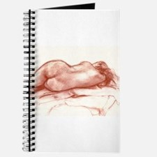 Funny Sleeping nude Journal
