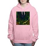 Japan Fractal Women's Hooded Sweatshirt