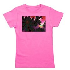 Unique Fractal christmas tree Girl's Tee