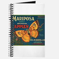 Mariposa Butterfly Fruit Crat Journal