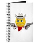 Cowboy Smiley Face Journal