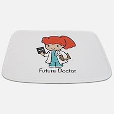 Future Doctor - girl Bathmat
