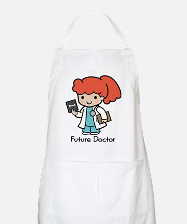 Future Doctor - girl Apron