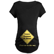 "Future Gymnast Maternity Dark ""B""-Shirt"