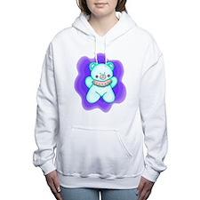 Baby Teddy Bear Women's Hooded Sweatshirt
