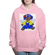 Angel Teddy Bear Women's Hooded Sweatshirt