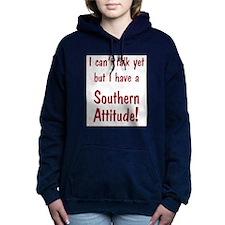 Southern Attitude Women's Hooded Sweatshirt
