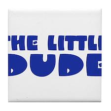 The Little Dude Tile Coaster