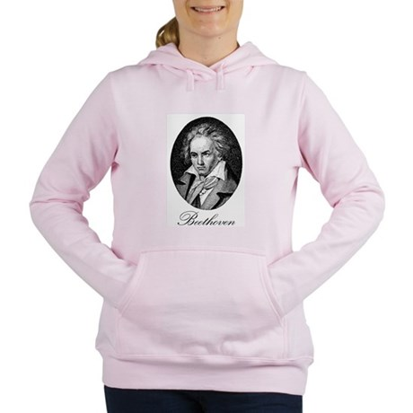 Beethoven Women's Hooded Sweatshirt