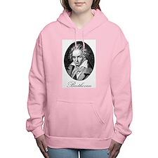 Beethoven Women's Hooded Sweatshirt