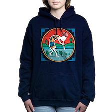 Kokopelli Man Women's Hooded Sweatshirt