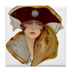 Glamour Girl - Beatrice Tile Coaster