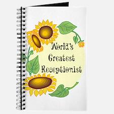 Worlds Greatest Receptionist Journal