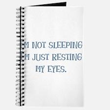 Resting My Eyes Journal