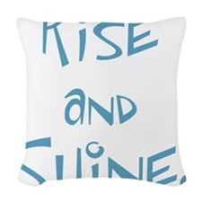 Rise and Shine! Woven Throw Pillow
