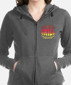 Lord of the Grill Women's Zip Hoodie