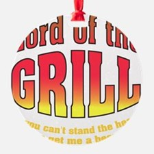 Lord of the Grill Ornament