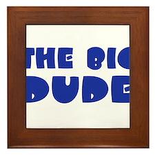Cute Big daddy Framed Tile