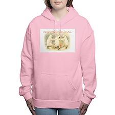 Christmas Dancing Bears Women's Hooded Sweatshirt