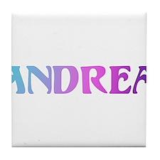 Andrea.png Tile Coaster