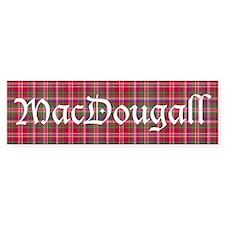 Tartan - MacDougall Bumper Sticker