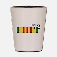 Vietnam 72 Shot Glass
