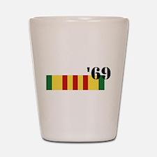 Vietnam 69 Shot Glass