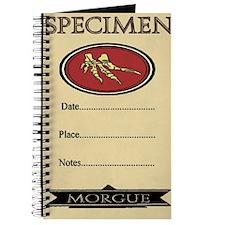 Morgue Specimen Lab Journal