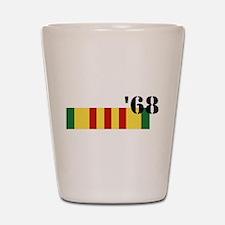 Vietnam 68 Shot Glass