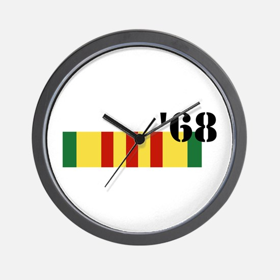 Vietnam 68 Wall Clock