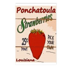 Ponchatoula Strawbe Postcards (Package of 8)