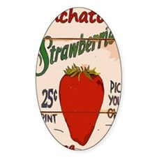 Ponchatoula Strawbe Decal