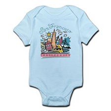 Cute San francisco california Infant Bodysuit