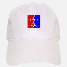 comedy tragedy square 01 Baseball Baseball Cap