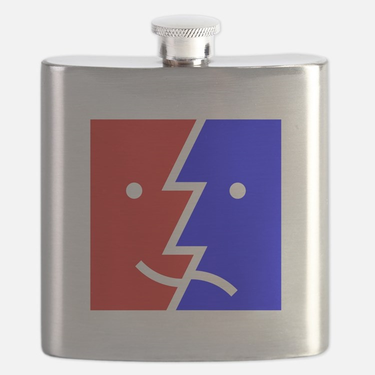 comedy tragedy square 01 Flask