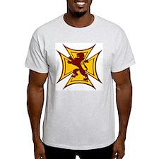 Royal Scottish Biker Cross T-Shirt