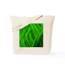 Green Yarn Ball - Crafty Tote Bag