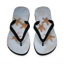 Sandy Sugar Flip Flops Blue