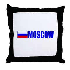 Moscow, Russia Throw Pillow